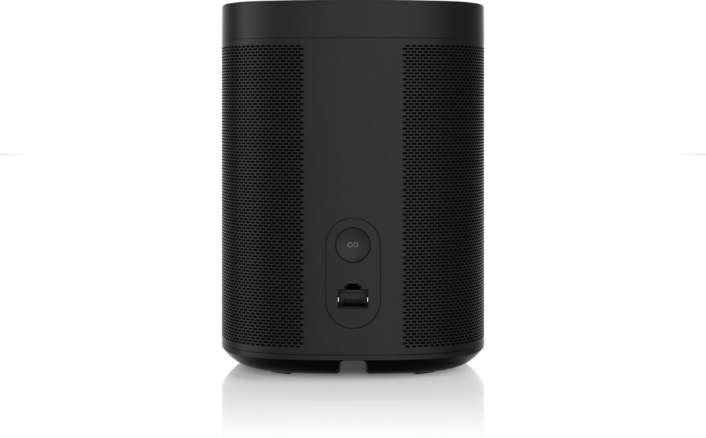Sonos One Review; achterkant