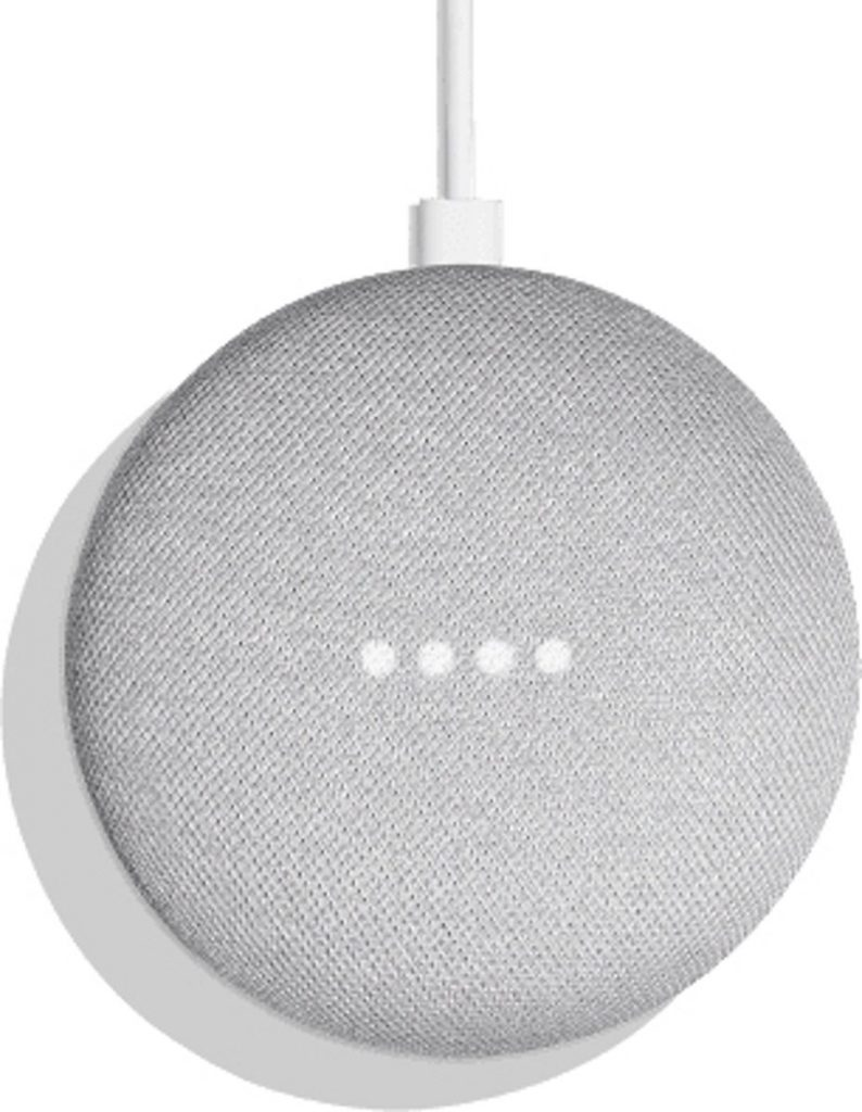 Google Home Mini Review: Voorkant
