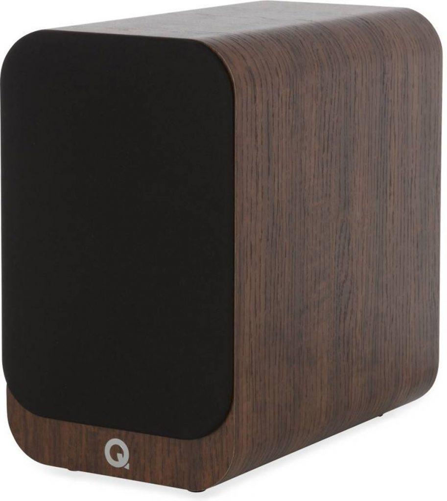 Q Acoustics 3020i review; zijaanzicht