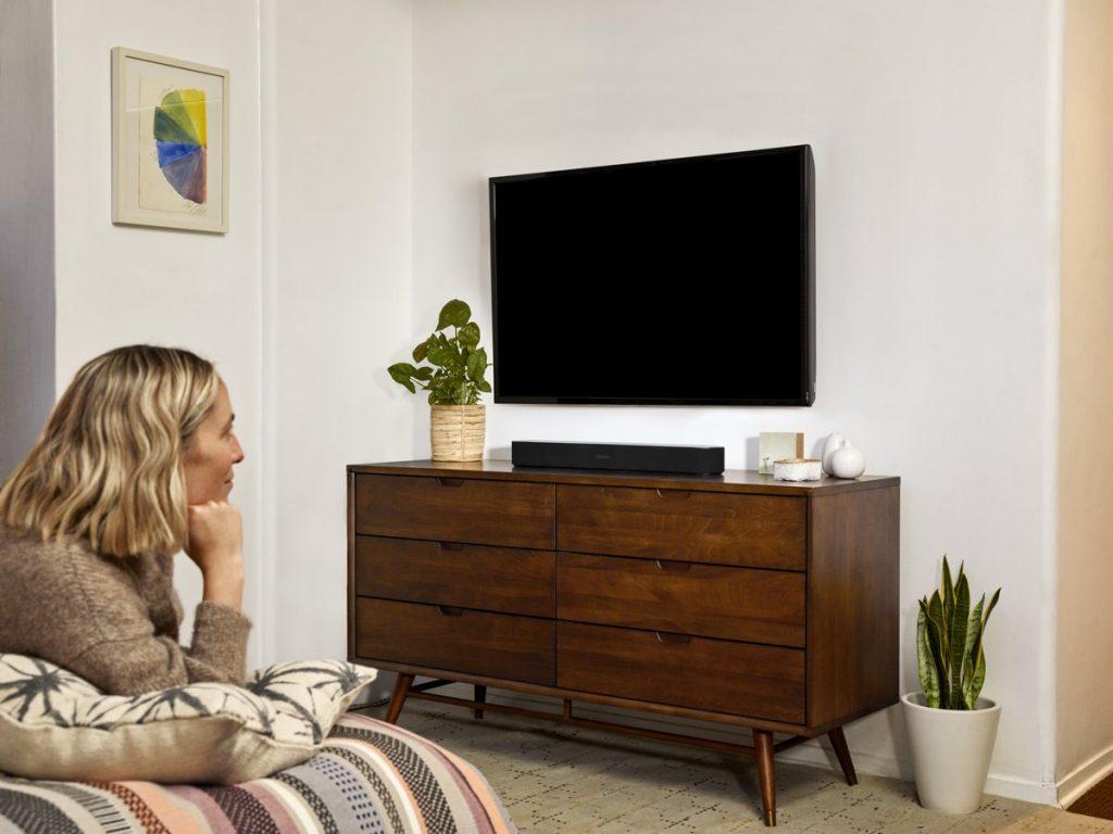 De Sonos Move in de woonkamer