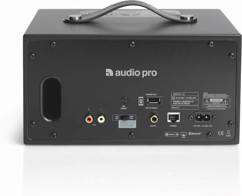Audio Pro Addon C5 review achterkant