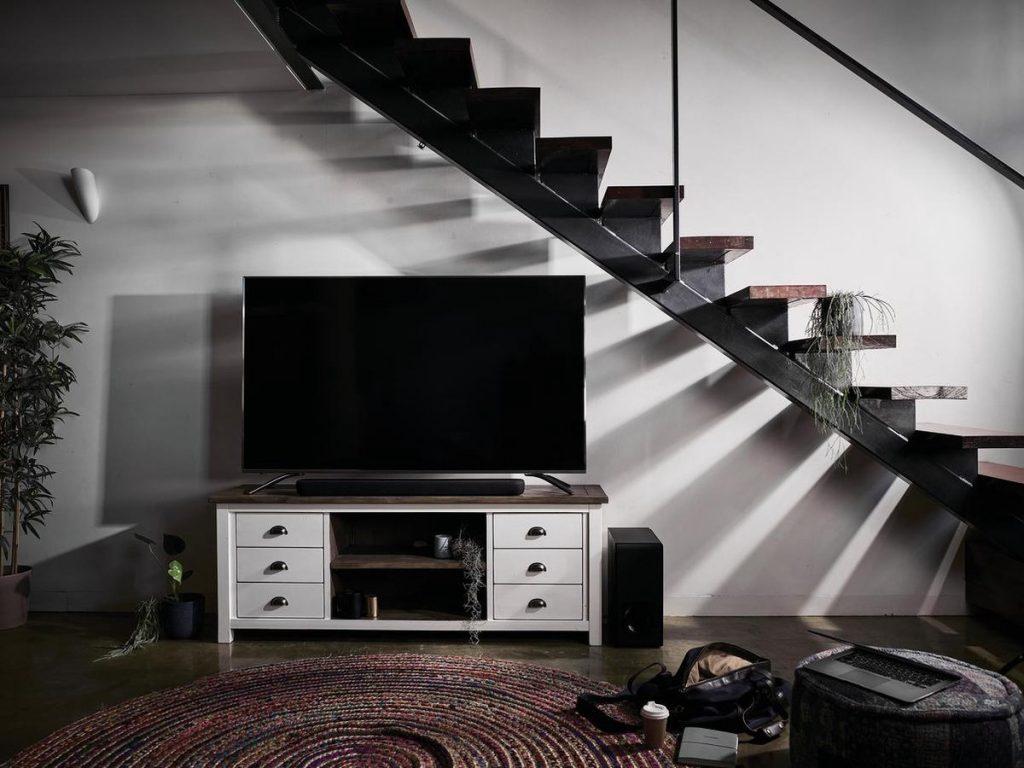 In woonkamer