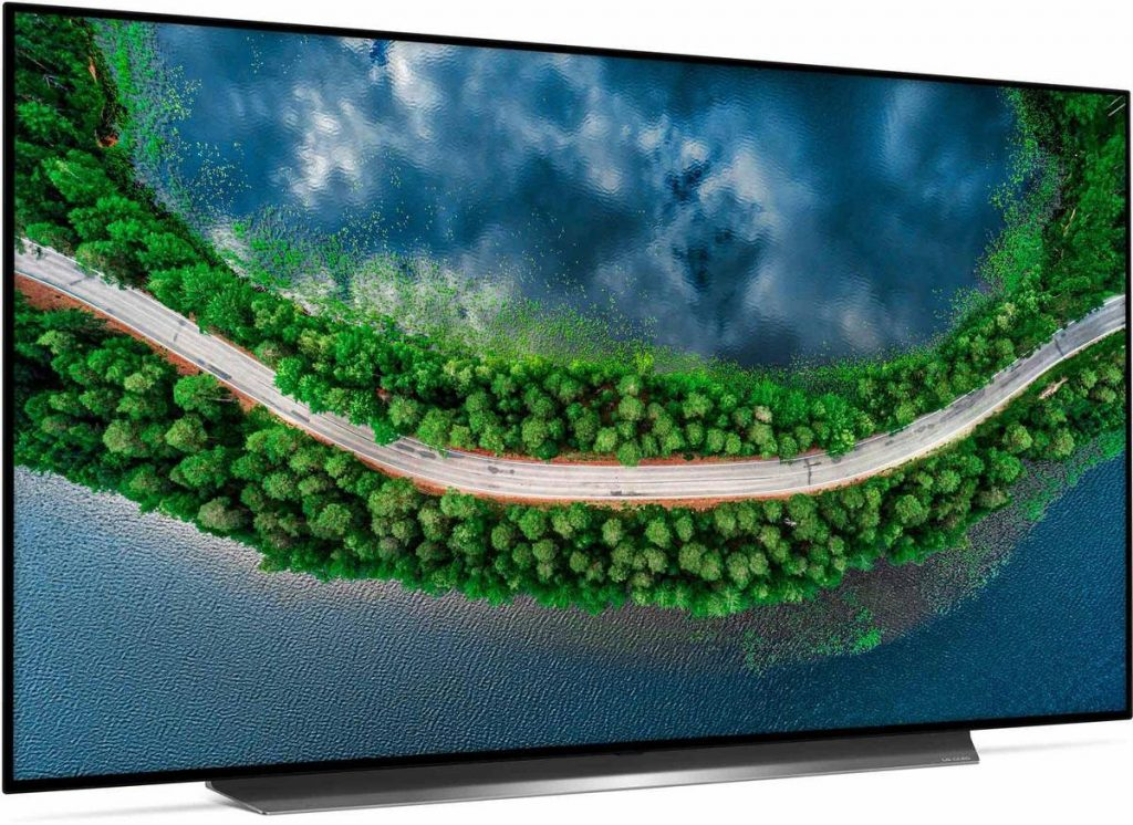 LG OLED55CX 55-inch OLED TV review - Zijkant