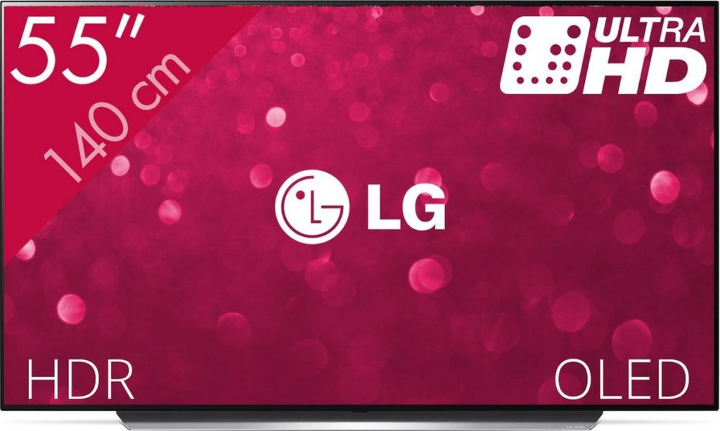 LG OLED55C9PLA Review - Voorkant