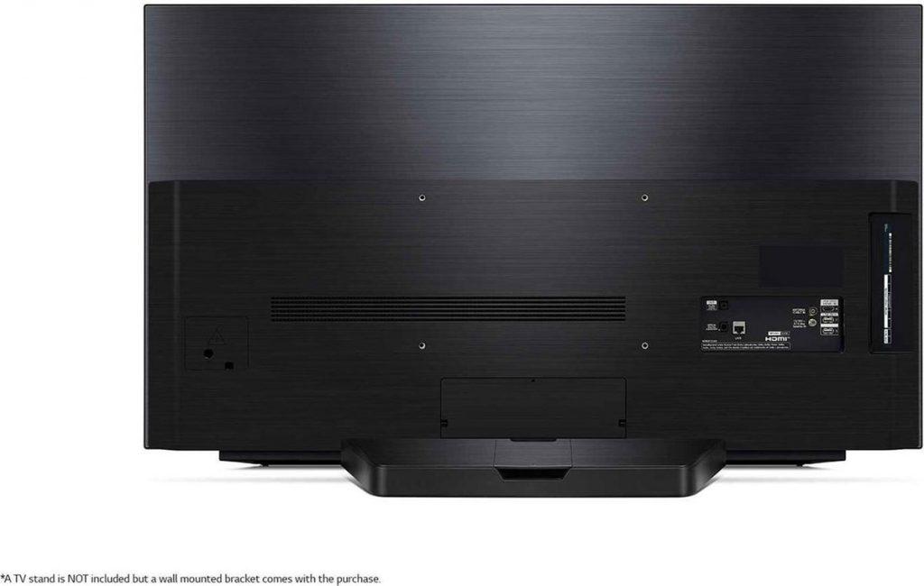 LG OLED48CX (LG OLED48CX6LB) Review - Achterkant