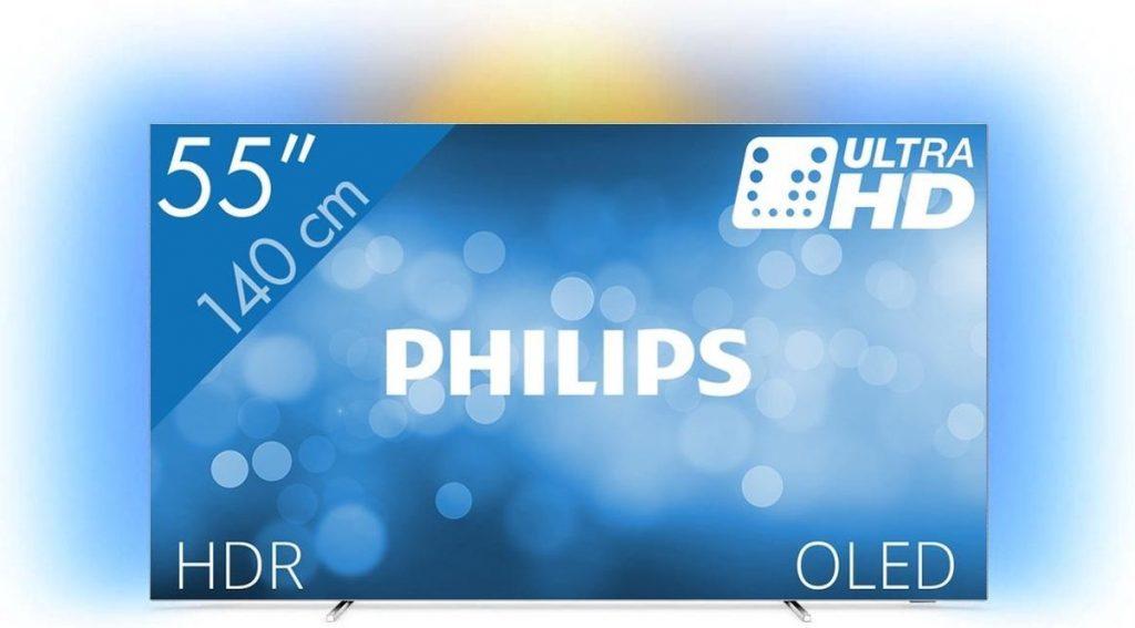 Philips 55OLED803/12 - 4K OLED TV Recensie - Voorkant