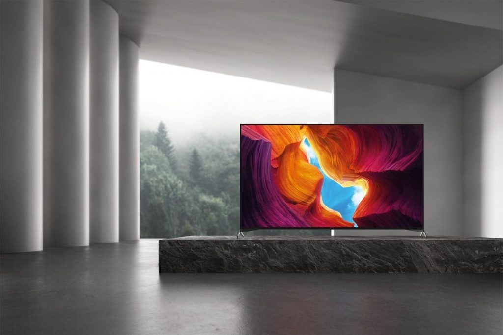 TV in woonkamer