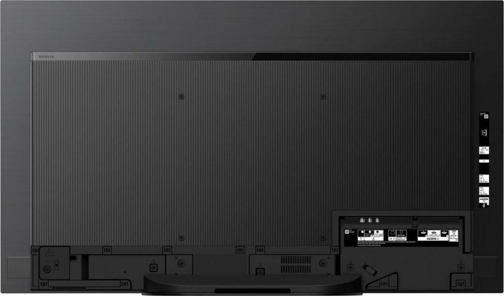 Sony KD-48A9 (4K) review - Achterkant