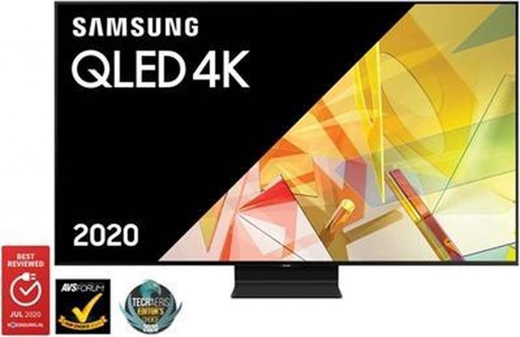 Samsung 4K QLED TV QE55Q90T review - voorkant