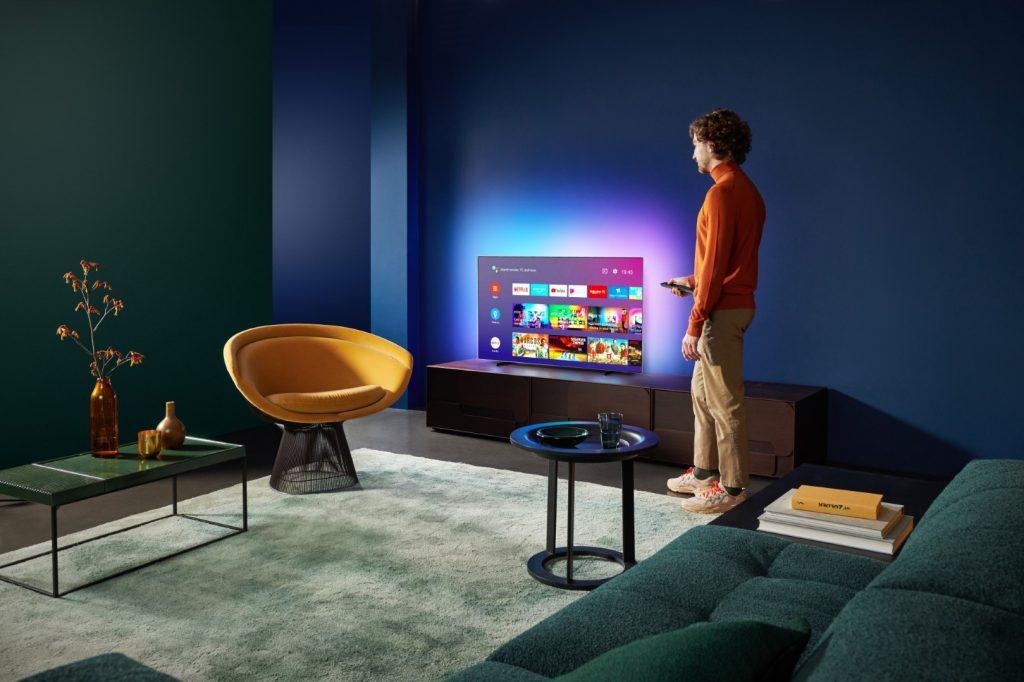 Televisie in kamer