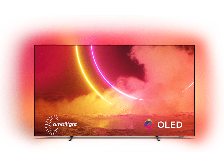 Philips 65OLED805 review - Voorkant