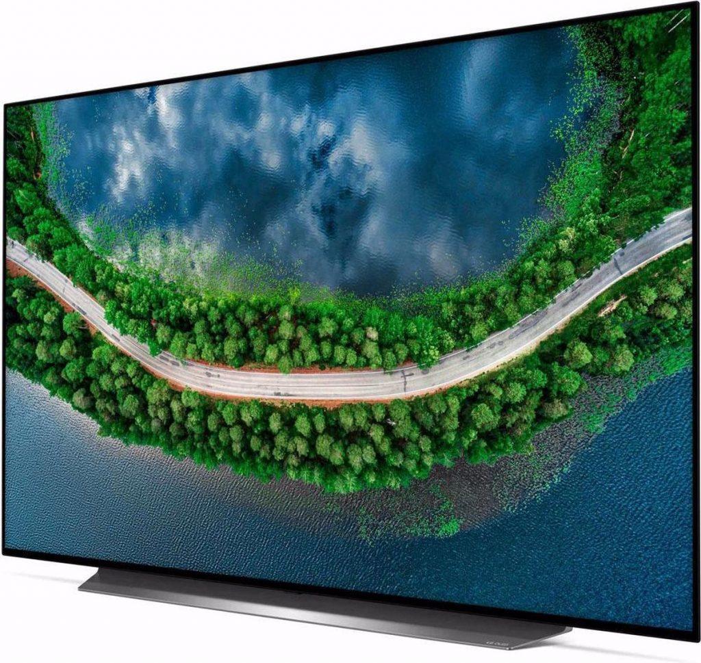 LG 4K OLED OLED55CX6LA review - Zijkant