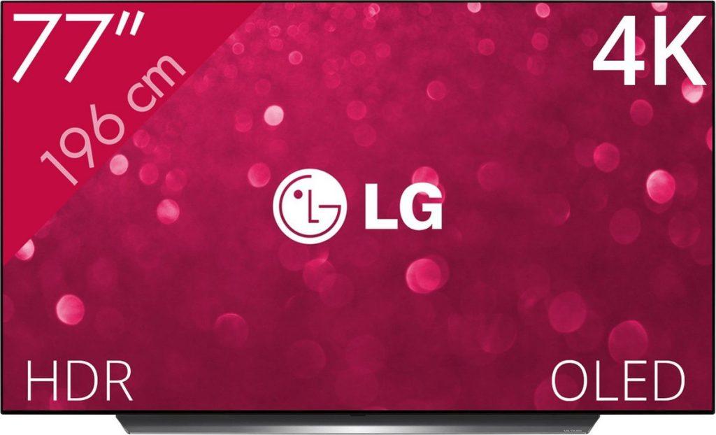 LG OLED77C9PLA (4K OLED) - Voorkant
