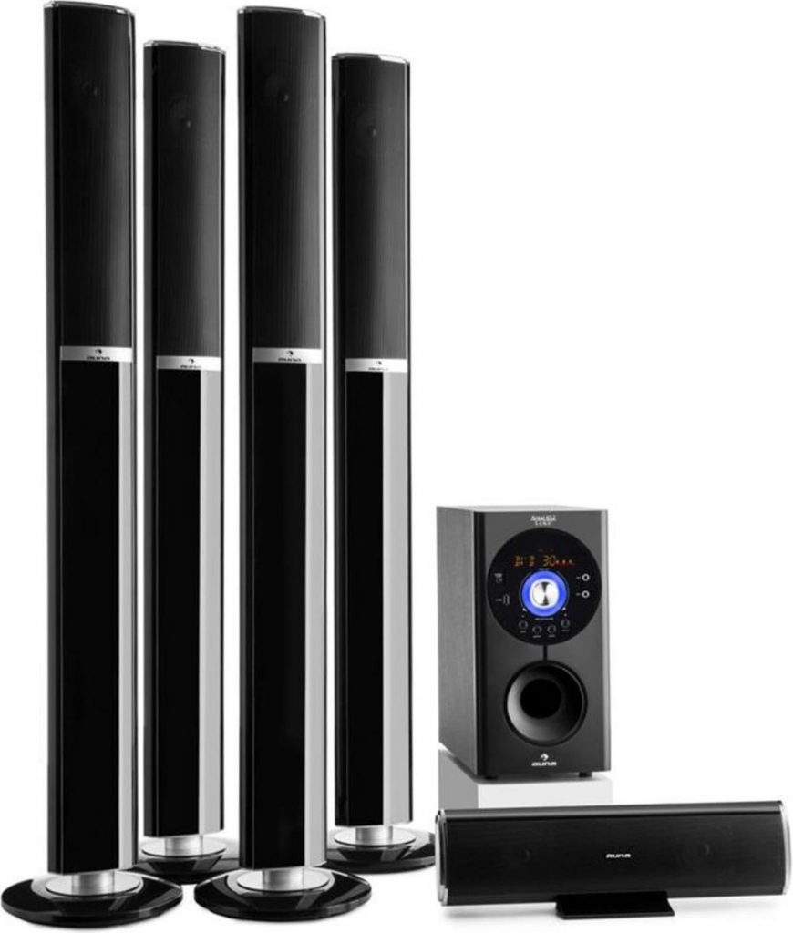 Areal 652 5.1 kanaal surround systeem 145W RMS bluetooth USB SD AUX