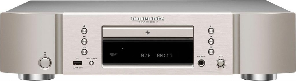Marantz CD6007 - Beste cd speler: betaalbaar tot high-end