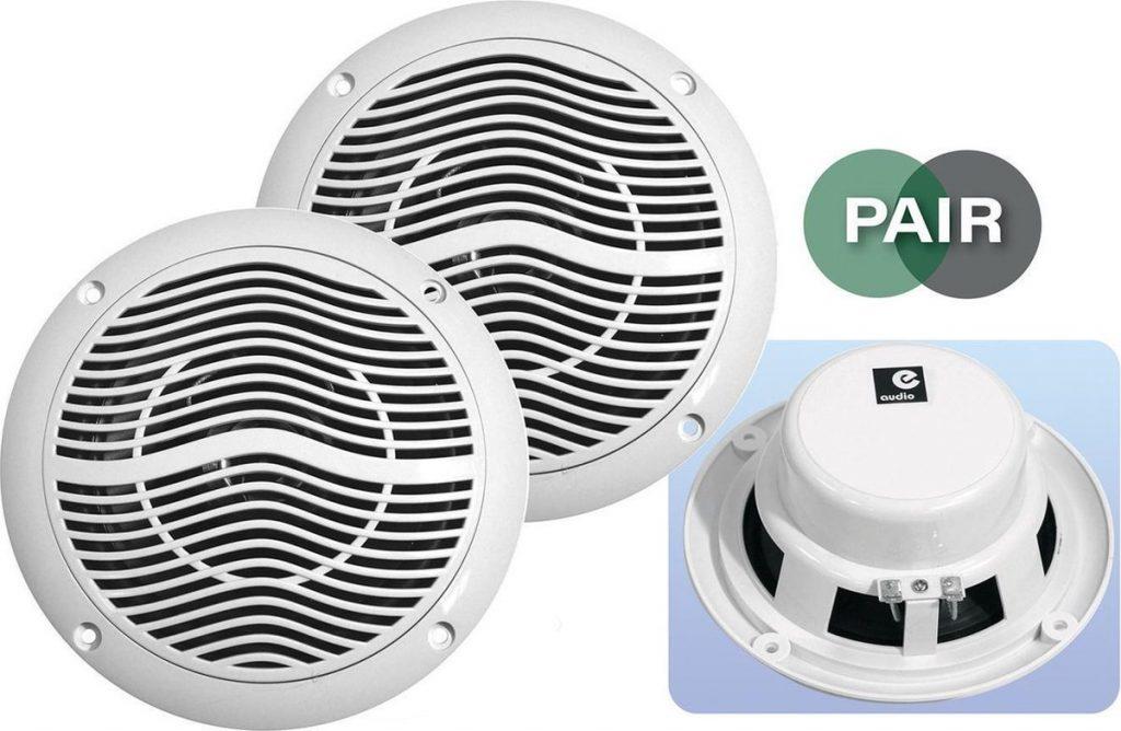 Beste Plafondspeakers 2021 - Top 10 getest! - 5 inch 80 watt vochtbestendige luidsprekers 8 ohm