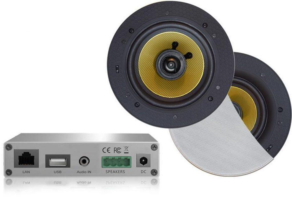 Beste Plafondspeakers 2021 - Top 10 getest! - WMA30-RW - WiFi Audio Versterker