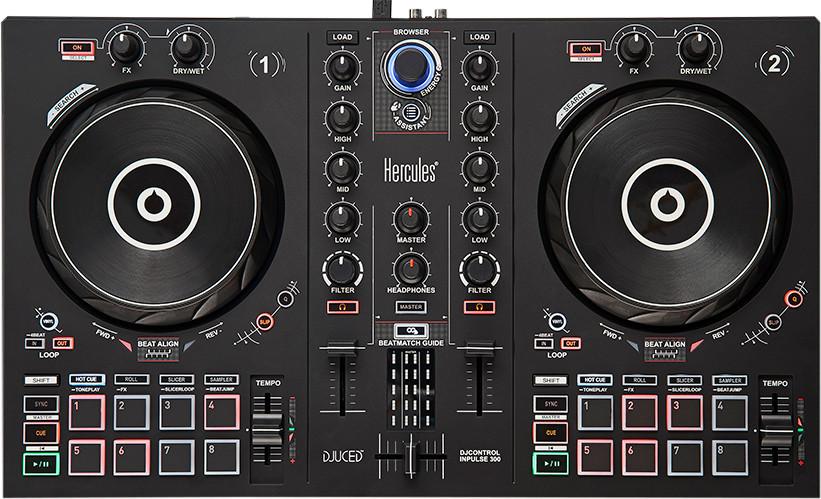 Beste DJ Controller 2021 - Top 10 getest! - Hercules DJControl Inpulse 300