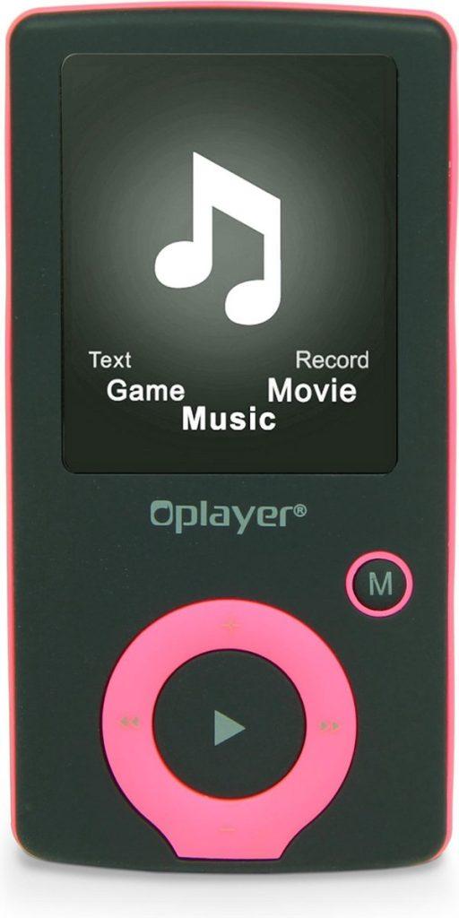 Beste Mp3 Speler 2021 - Top 10 getest! - Nikkei NMP4BK - Digitale Audio/Video MP4-speler met 8GB Opslag, Radio, JPEG picture browsing en AMV video - Roze