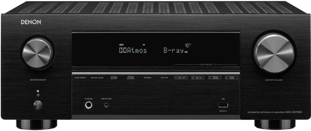 Denon AVC-X3700H - Beste AV receivers 2021: beste surround receiver en versterkers