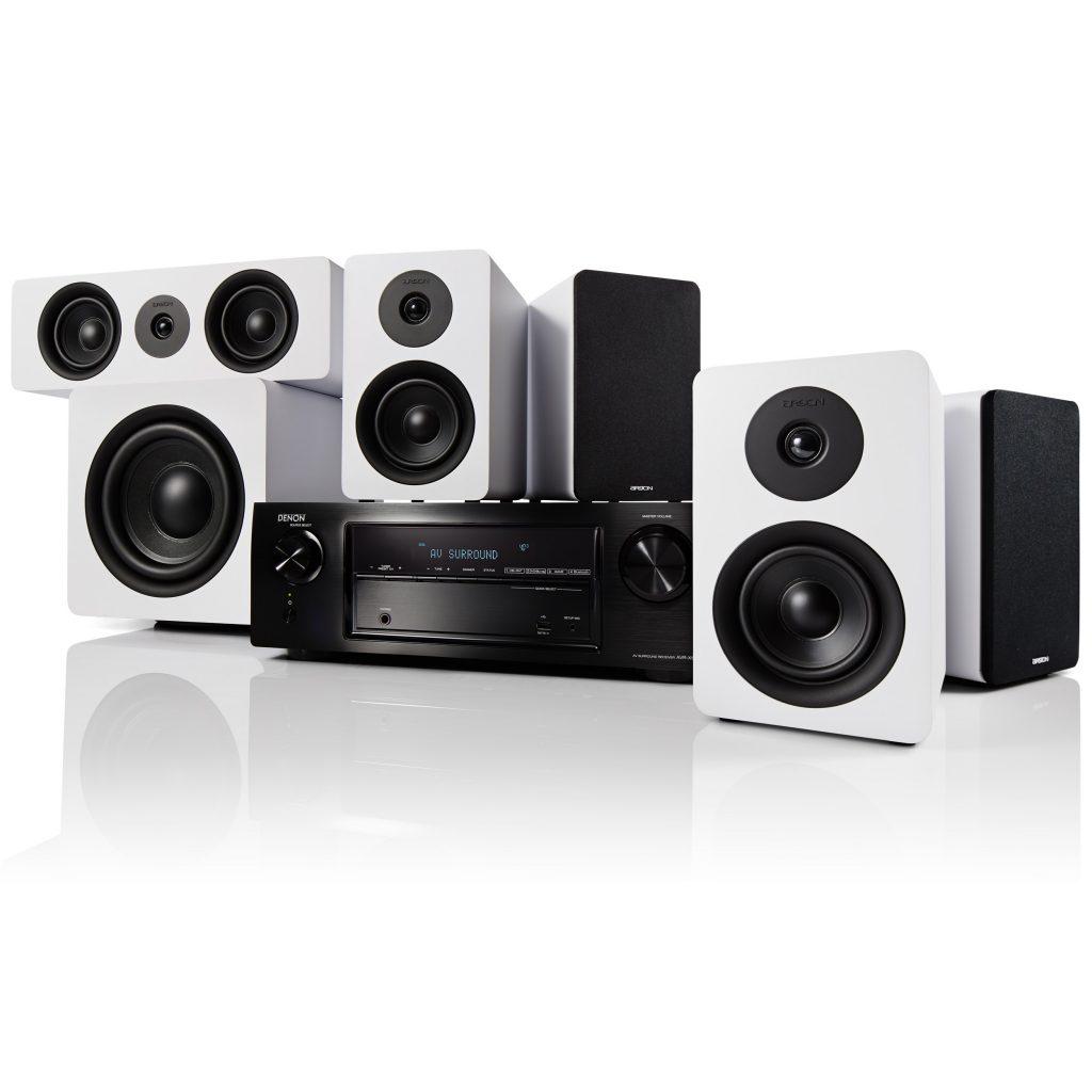 Denon AVR-X1600H + Argon Audio ALTO Surround 5.1 - Beste thuisbioscoop luidsprekersysteem 2021