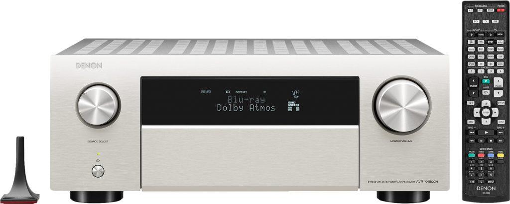 Denon AVR-X4500H - Beste AV receivers 2021: beste surround receiver en versterkers