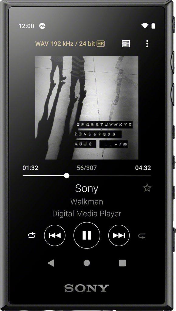 Sony NW-A105 Zwart - Beste Apple iPod Touch alternatieven 2021: budget en premium
