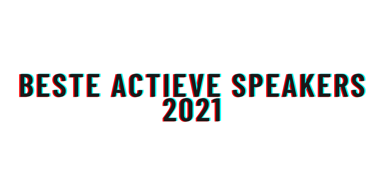 Beste actieve speakers 2021