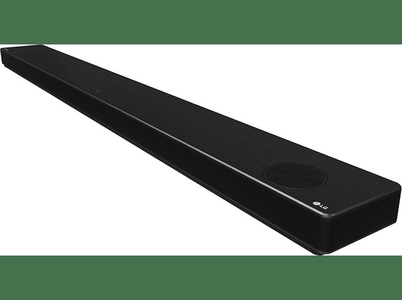 LG DSP11RA soundbar zijkant
