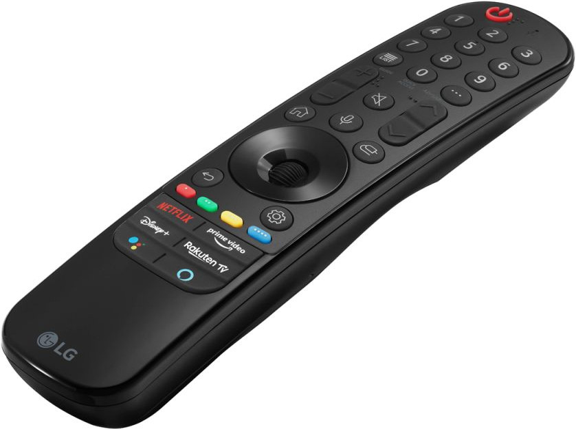 LG OLED65C16LA (2021) review - afstandsbediening