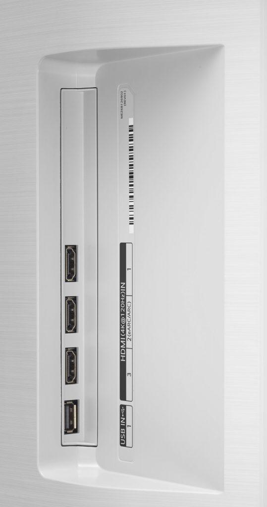 LG OLED65C16LA (2021) review - inputs