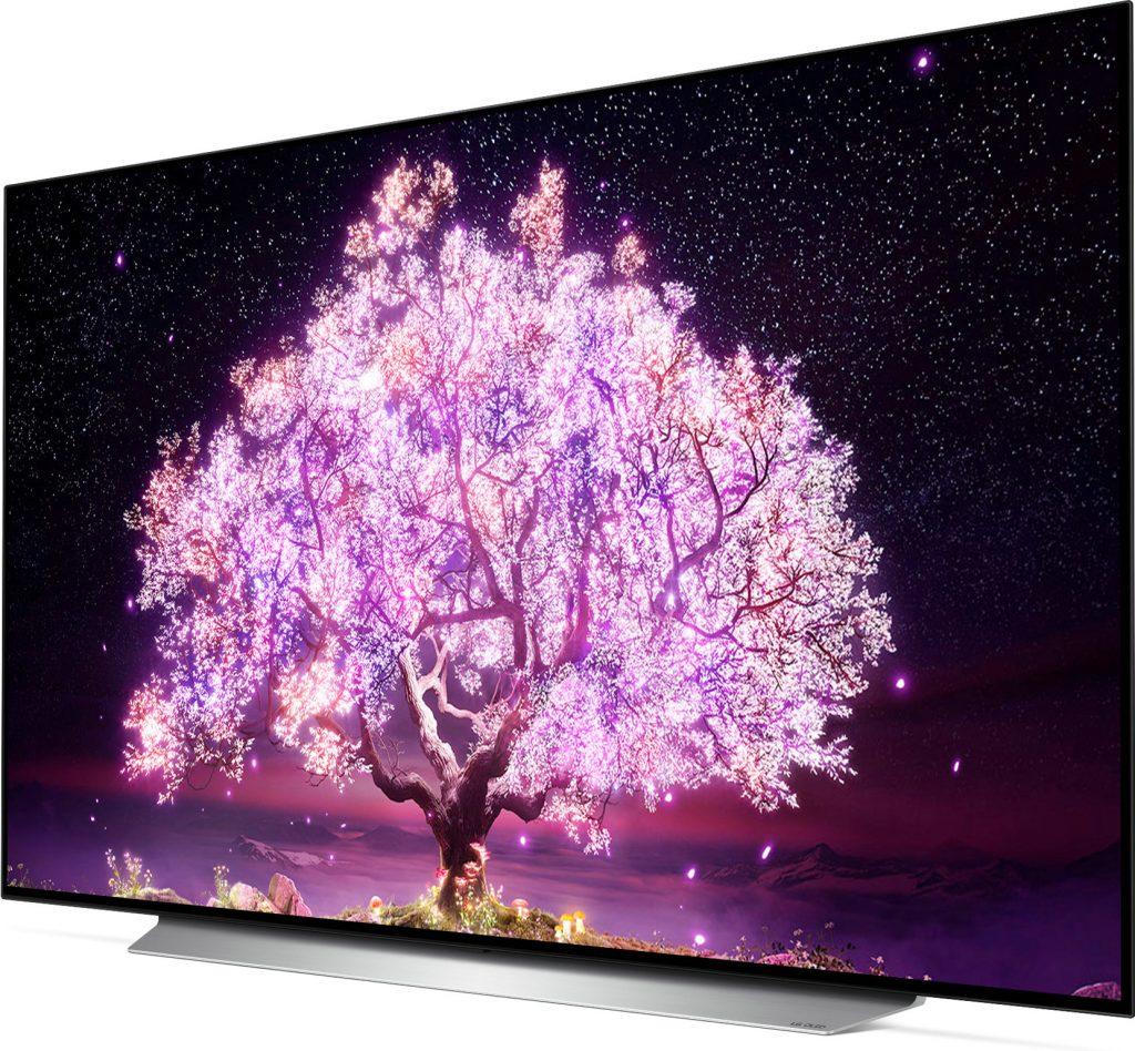 LG OLED65C16LA (2021) review - Zijkant