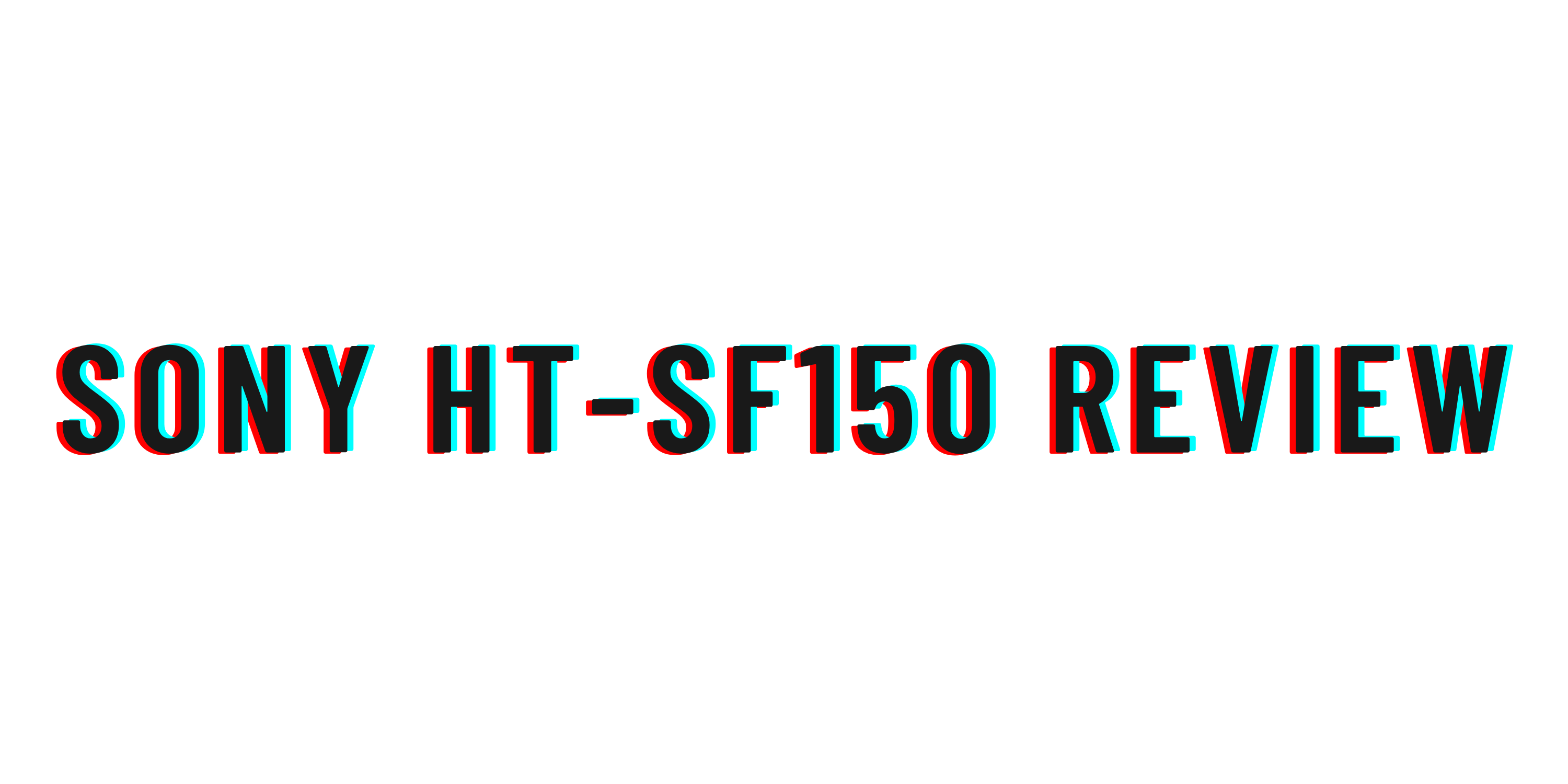Sony HT-SF150 review