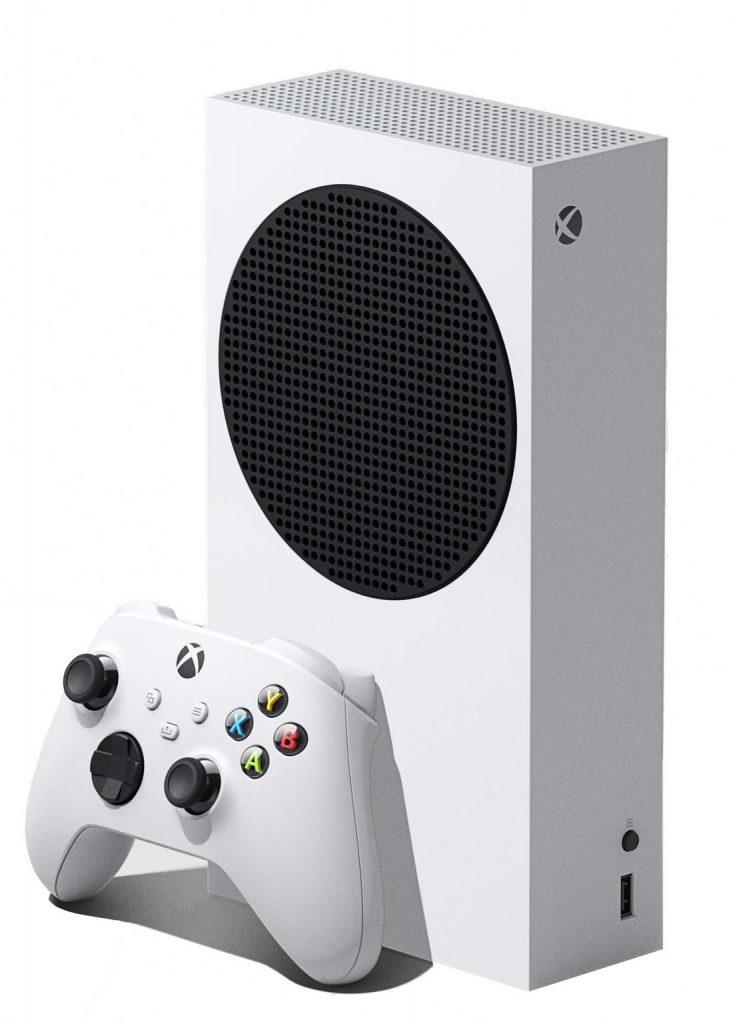 Xbox Series S review - zijkant