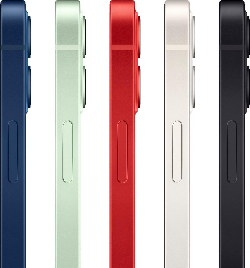 Apple iPhone 12 Mini review - zijkant