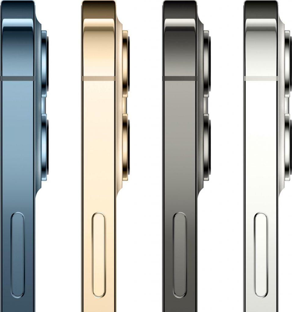 Apple iPhone 12 Pro Max review - zijkant